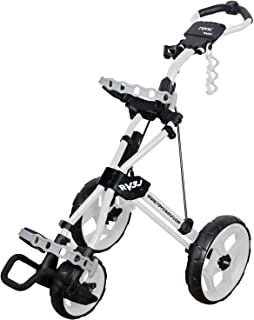 Rovic Model RV3J Junior | Youth 3-Wheel Golf Push Cart