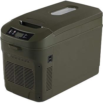 ICEBERG 車載冷蔵庫 22L ポータブル冷蔵庫 保冷 保温 0℃ 冷却 65℃ 加熱 オリーブドラブ AQ22L-OD