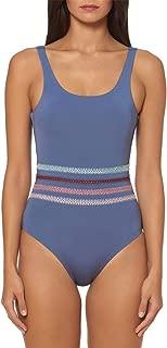 Dolce Vita Women's Kokomo One Piece Tank Swimsuit (Pigeon, Medium)