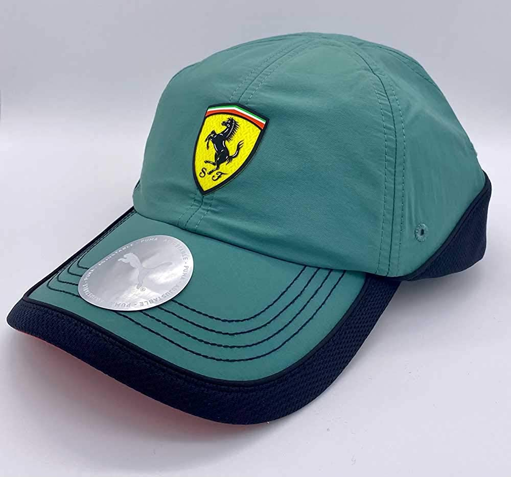 Scuderia Ferrari SPTWR Green Logo Hat