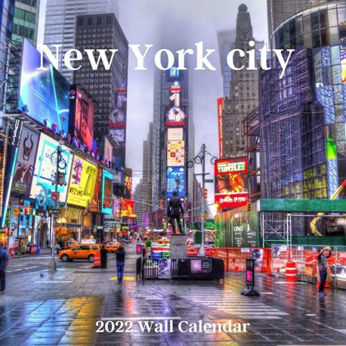 New york City 2022 Wall calendar: New York City 2022 Calendar, office Calendar, 18 Months.