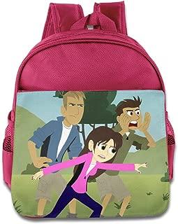 Kids Wild Kratts School Backpack Cartoon Children School Bag