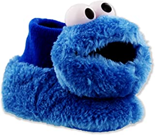 Elmo Cookie Monster Boys Girls Sock Top Slippers (Toddler/Little Kid)