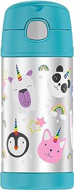 Thermos Funtainer 12 Ounce Bottle, Magical Rainbow Unicorn
