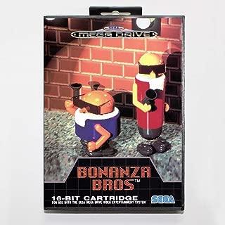bonanza bros sega mega drive