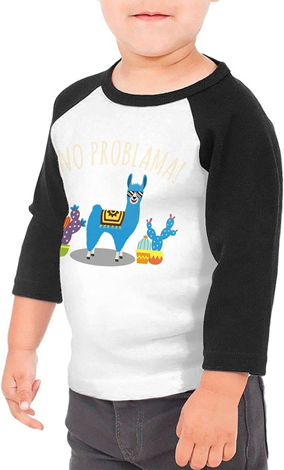 Cute Retro Vintage Alpaca Llama T-Shirts Novelty for Youth Tees with Cool Designs