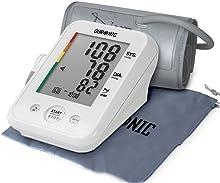 Duronic BPM150 Tensiomètre électronique pour bras avec brassard ajustable 22-42 cm - Mesure automatique de la tension artérielle - Certifié Médicalement – Large écran LCD