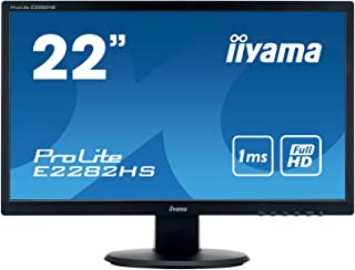 iiyama モニター ディスプレイ E2282HS-B1 (21.5インチ/フルHD/TN/HDMI,D-sub,DVI-D/3年保証)