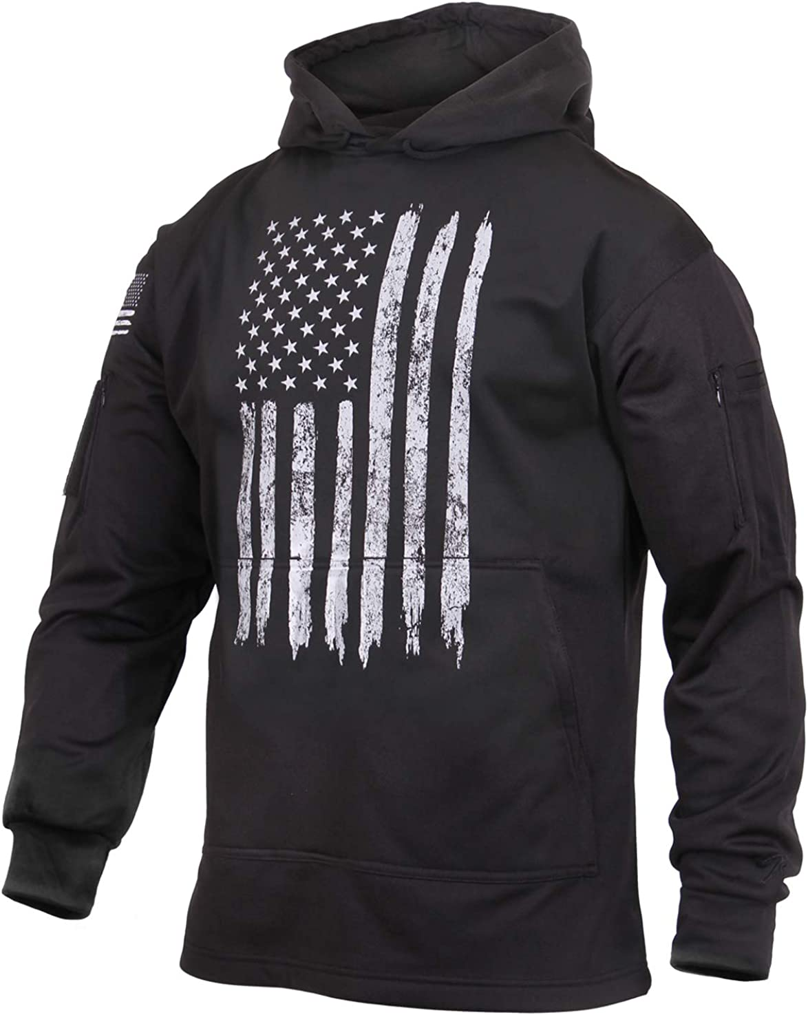 Rothco Recommended Weekly update U.S. Flag Carry Hoodie Concealed