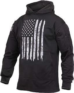 Distressed US Flag Concealed Carry Hooded Sweatshirt