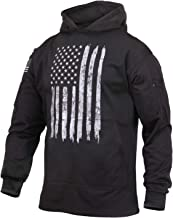 Rothco Distressed US Flag Concealed Carry Hooded Sweatshirt