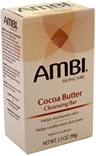 Ambi Cocoa Butter Cleansing Bar 3.5 oz (Pack of 12)