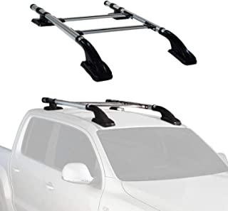 Roof Rack Cross Bars Lockable Luggage Carrier   Fits Nissan Frontier 2005-2021 Aluminum Silver Rooftop Cargo Carrier Bars   Automotive Exterior Accessories