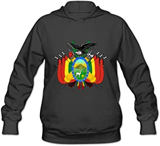 Coat Of Arms Of Bolivia Fashion Casual Long Sleeve Sweatshirt For Girls