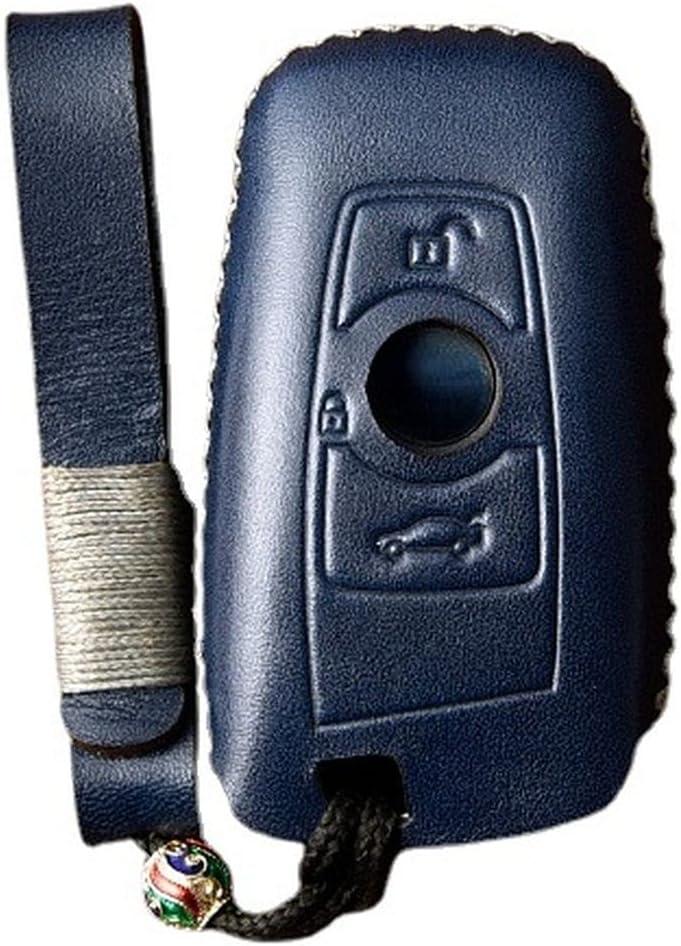SILUOFEI Leather Handmade Smart Car Fod Protector Case Popular brand Key Sale Cover
