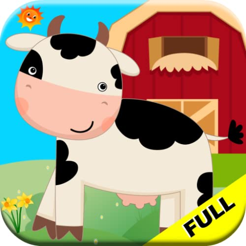 Barnyard Farm Animal Games For Toddlers Ages 1+ Full Version