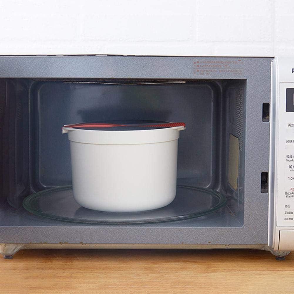 Reiskocher Mikrowellen Multifunktionaler Kochgeschirrdampfer Mit Siebdeckel Und Shamoji F/ür Die K/üche Zu Hause Lancei Mikrowelle Reiskocher