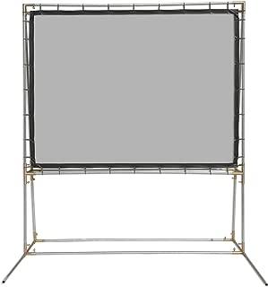 Carl's SilverScreen, FreeStanding DIY Projector Screen Kit, Silver, Passive 3D (4:3   6.75x9-Ft   131-in)