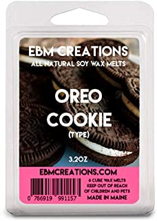 EBM Creations Scented All Natural Soy Wax Melts - 6 Pack Clamshell 3.2oz (Oreo Cookie (Type))