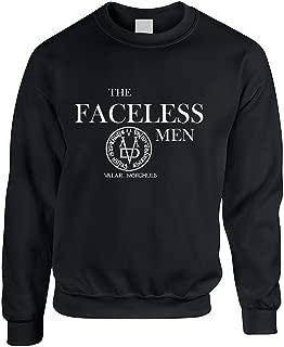 Allntrends Adult Crewneck Sweatshirt The Faceless Men Valar Morghulis