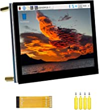 Compatible with Raspberry Pi Touchscreen 5inch DSI LCD Touch Screen 800×480 Resolution TFT LCD Display Monitor for Raspber...
