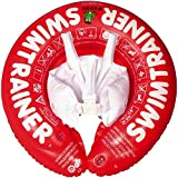 Fred's Swim Academy Toddler SwimTrainer Classic with Safety Straps - Red (3 months - 4 years)