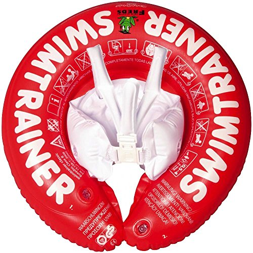Fred Swim Academy Nager Formateur, SR, Rouge, Taille Unique