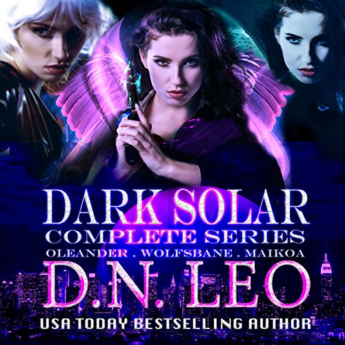 Dark Solar Complete Trilogy audiobook cover art