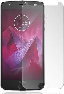 Yiizy Skärmskydd för Motorola Moto Z2 Force 9H hårdhet härdat glas premium HD hög definition klar härdat ultratunt glas bu...