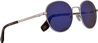 Marc Jacobs Marc 272/S Sunglasses Silver w/Blue Mirror Lens 53mm PJPXT Marc 272S Marc272S Marc272/s