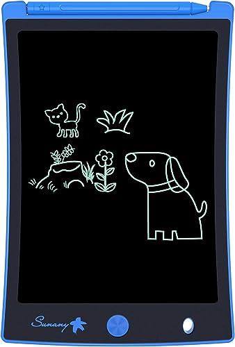 Tablette d'écriture LCD 8,5 po de Sunany, Tableau de griffonnage d'écriture électronique et Planche à Dessin, Cadeau ...
