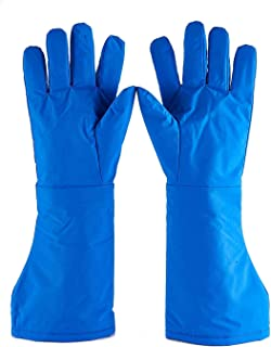 Mufly Cryogenic Gloves Waterproof MA Work Gloves for Extremely Cold Environment, Mid-Arm,Extra Large (48cm)