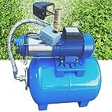 DIFU Hauswasserwerk Wasserpumpe Garten 1800W Hauswasserautomat Gartenpumpe, 4000 L/h Fördervolumen,...