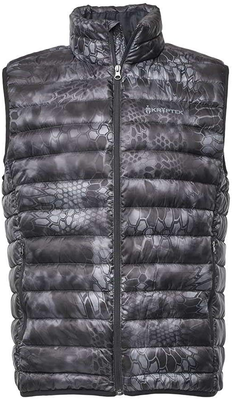 Kryptek Cirius Down Camo Hunting Vest (Insulation Collection)