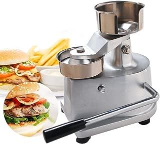 Royal Catering Prensa Para Hamburguesas Prensador RCHM-150 Di/ámetro: 150 mm, Para hamburguesas de 200 g, Pies antideslizantes, Incl. 500 disco separadores, Acero inoxidable