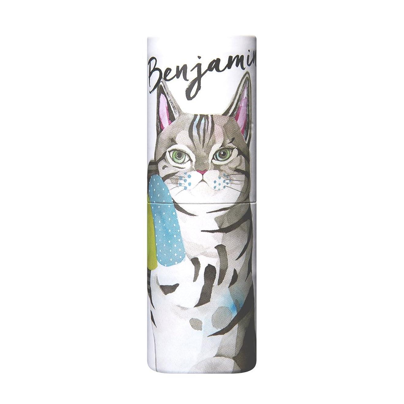 風邪をひく雄弁な喉が渇いたヴァシリーサ パフュームスティック ベンジャミン ネコ  ねり香水 5g