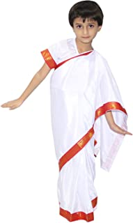 Indra Gandhi Fancy Dress for Kids,National Hero/Freedom figter Costume for Independence Day/Republic Day/Annual Function