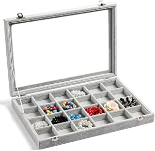 earring display case with lock