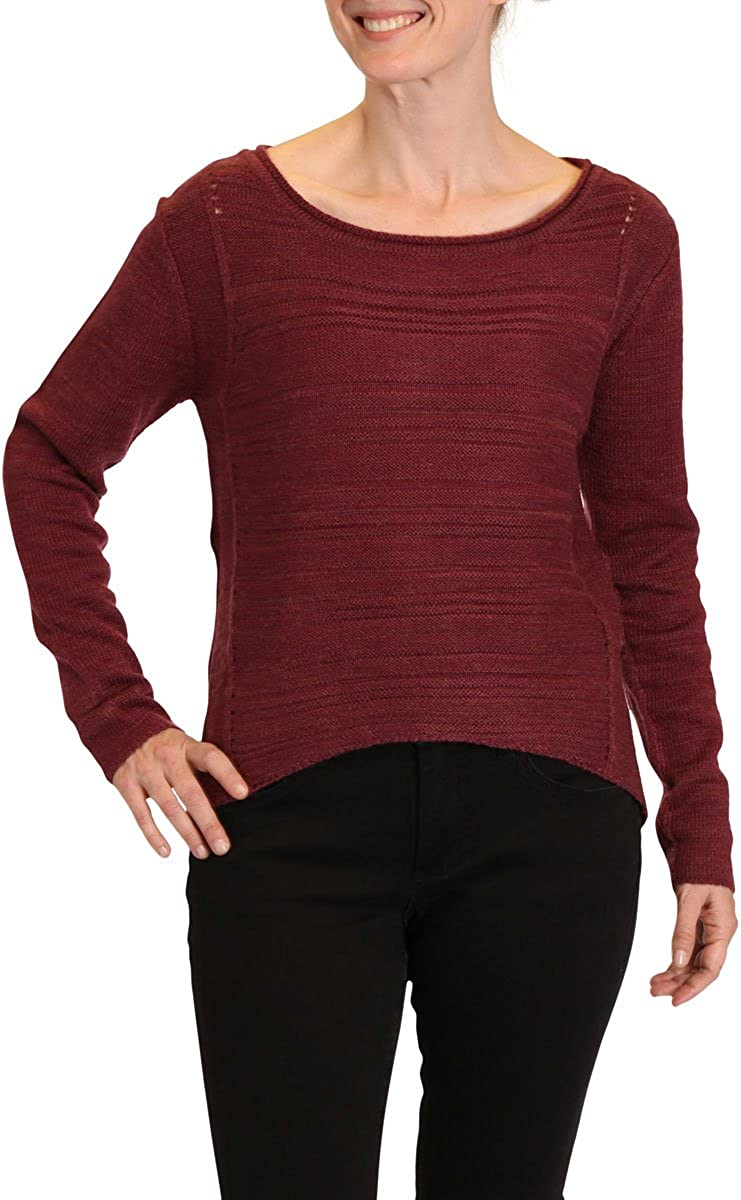 Jag Jeans Women's Boat Neck Drop Tail Top