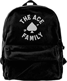 the ace family merch backpack
