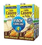 Caldo Casero De Pollo 100% Natural 4L Familiar