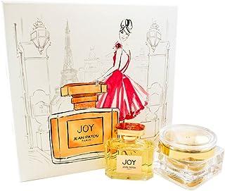 Jean Patou Joy 2 Pc. Gift Set (Eau De Parfum Spray 2.5 Oz & Body Cream 3.4 Oz) for Women by Jean Patou, 1315.42 g