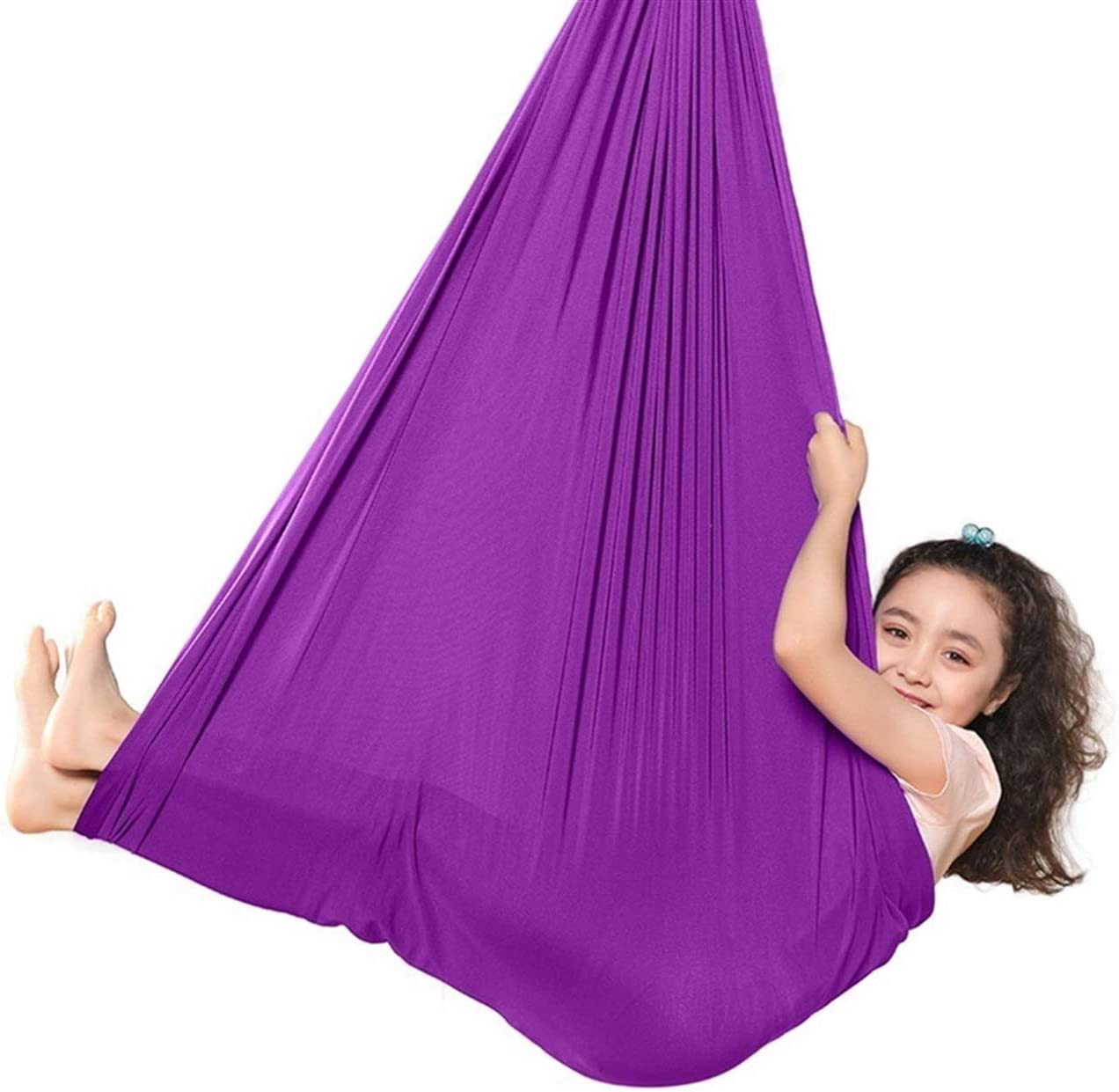 Sensory Therapy Swing for Max 81% service OFF Kids Cuddle Soft to Elastic Up P Child