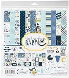 Carta Bella Paper Company cbrbb64016Rock-a-Bye Boy colección Kit
