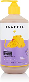 Alaffia - EveryDay Shea Shampoo and Body Wash, Babies and Kids, Gentle and Calming Support for Soft Hair and Skin with She...
