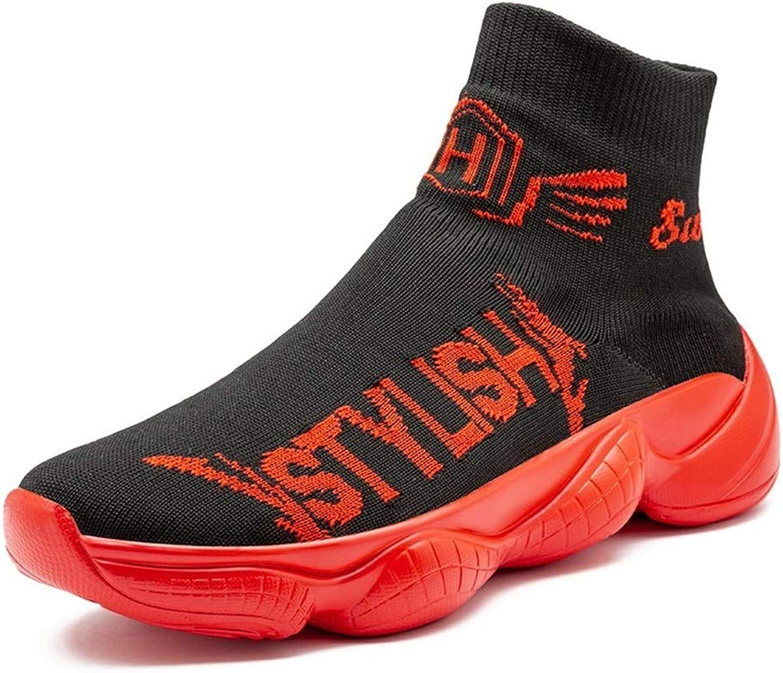 Sportskor för HCMONSTER Sock skor Casual skor Män utomhus utomhus utomhus Footwear for Manliga Andable skor Casual Loafers  mer rabatt