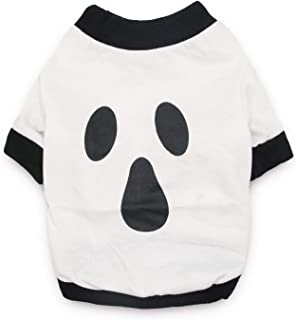 DroolingDog Dog Halloween Shirt Pet Clothes Funny T-Shirt for Small Dogs