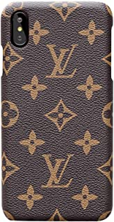 monogram phone case leather