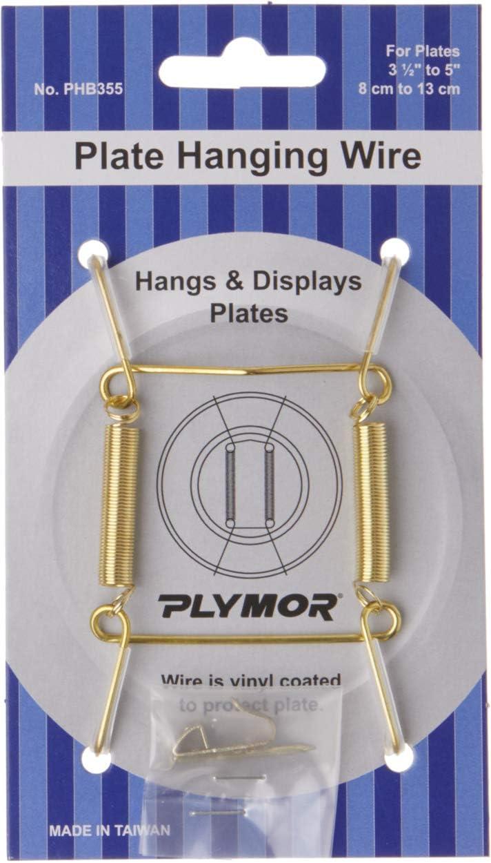 Plymor Wall Ranking TOP15 Mountable Plate Hanger 3.125