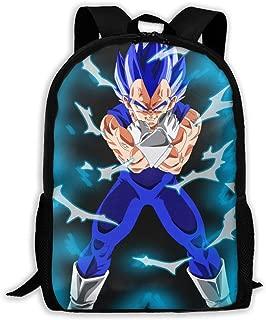 Boys Grils Daypack Back To School Gift - Bookbag Casual College School Daypack Traveling & Camping Backpack, Casual Daypack Climbing Shoulder Bag (Dragon Ball Super Saiyan Goku Battles Villains)
